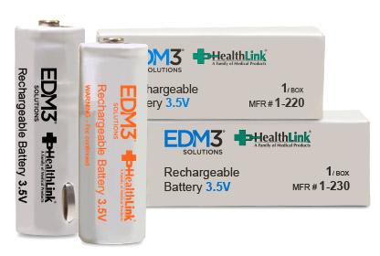 Batteries medical EDM3